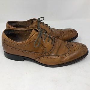 Johnston & Murphy Mens Conard Cap Toe Oxford shoe